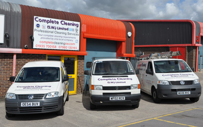 Complete Cleaning vans